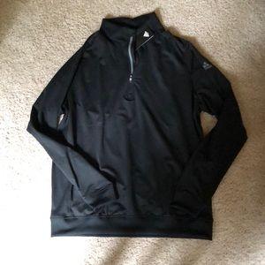 adidas Quarter Zip Golf Pullover